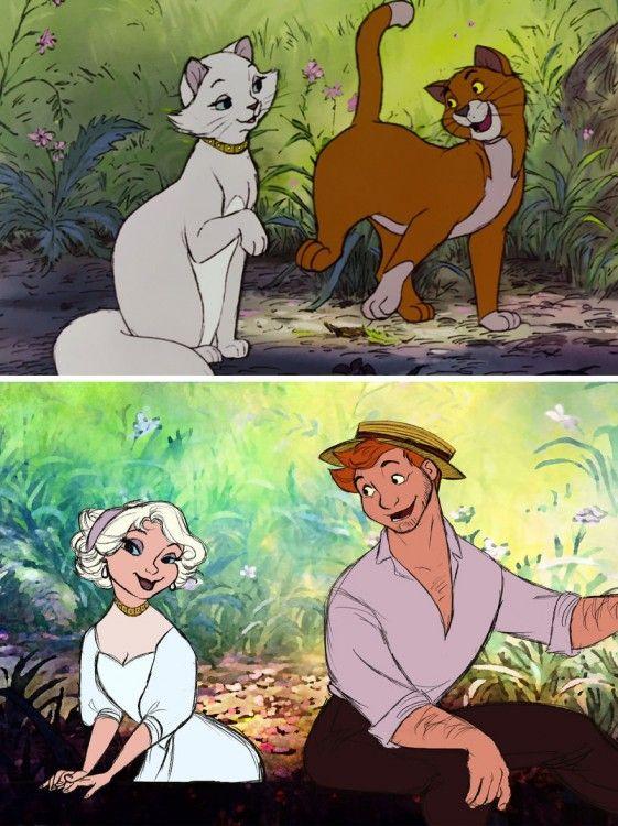 Así se verían los Animales de Disney si fueran Humanos ¡No ...