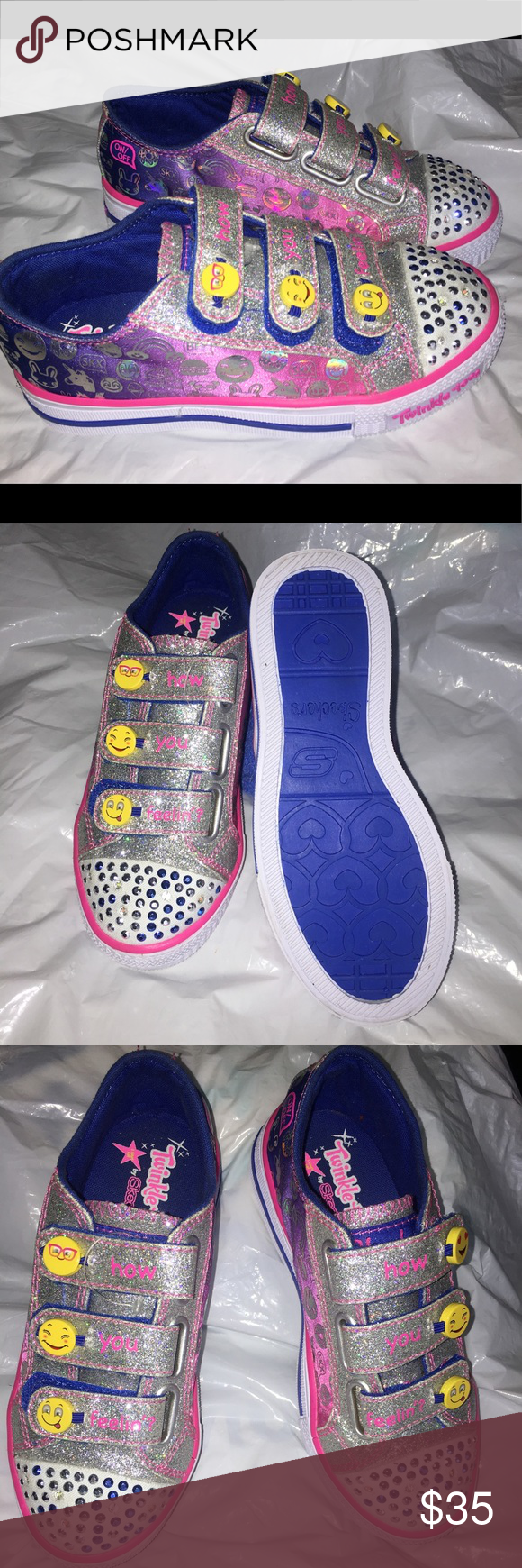 Sketchers Twinkle Toes girls size 12
