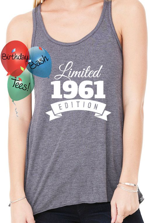 Birthday Gift Ideas For Girlfriend 1961 By BirthdayBashTees