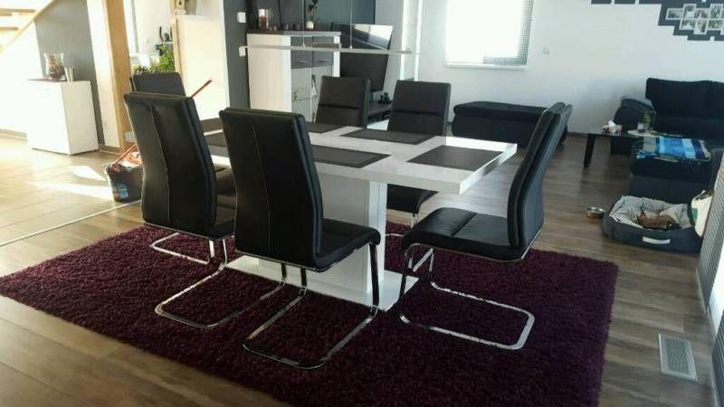 verkaufen unseren esszimmertisch ( 1.80x90, weiß hochglanz) und, Esszimmer