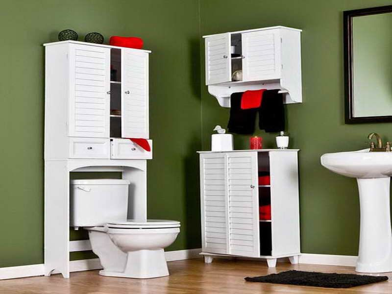 Superbe Bathroom Furniture Storage Ideas Over Toilet Shelves