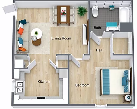 Student Housing Conway Patriots Hollow Bedroom Floor Plans Student House Bedroom Flooring
