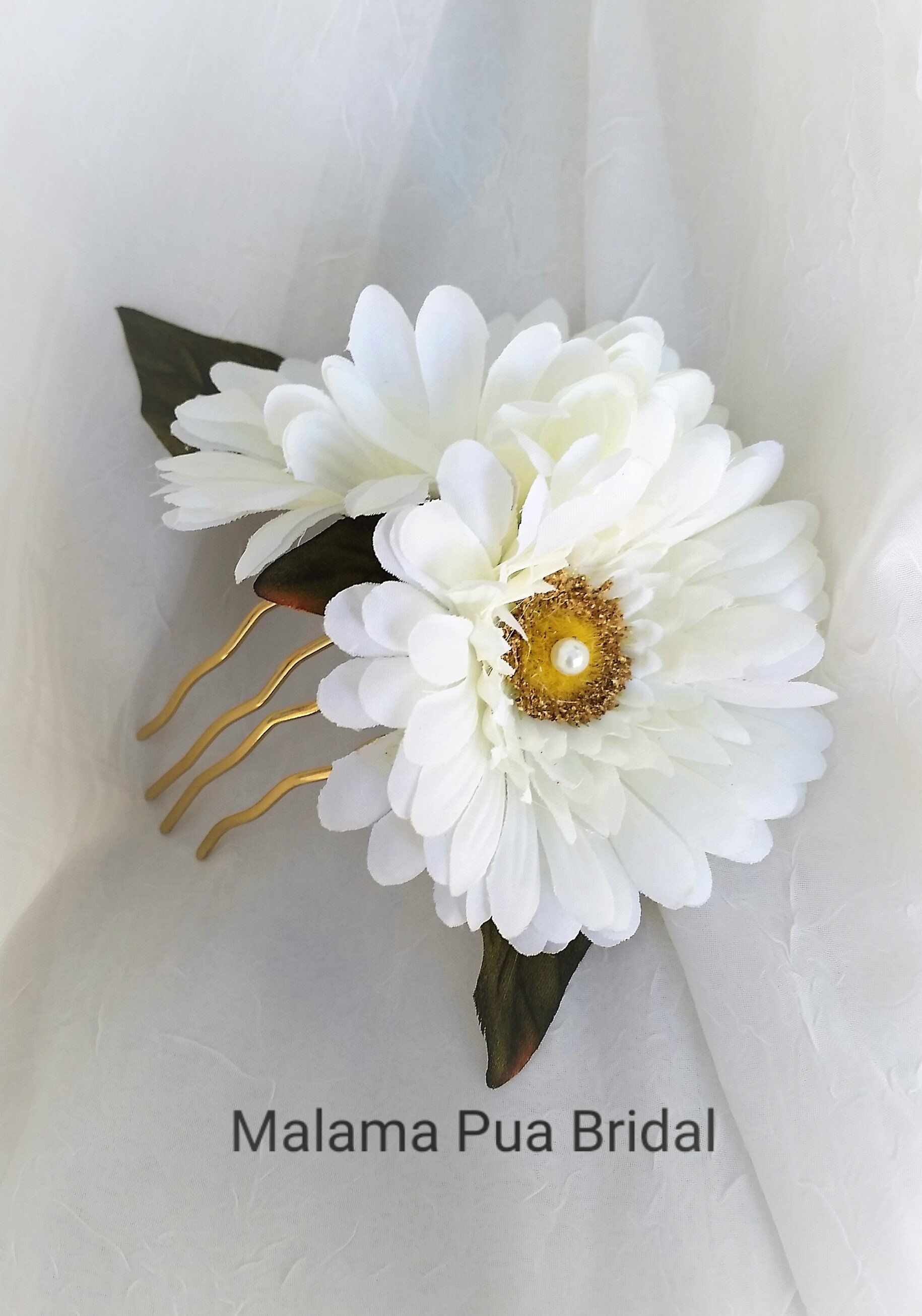 Daisy Hair Comb Hair Accessory Hair Clip Bridal Headpiece