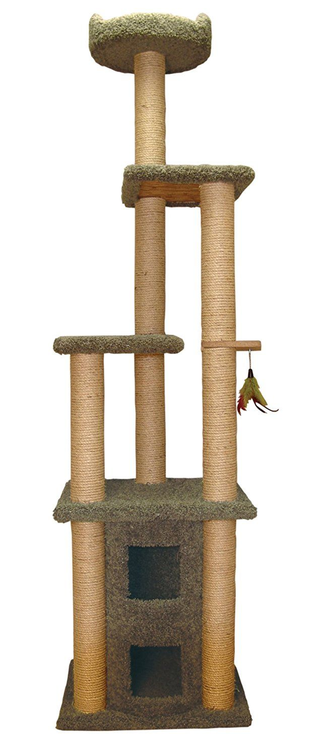 Family Cat Two Story Cat Condo With Sky Lookout New And Awesome Cat Product Awaits You Read It Now Cat Tree And Tower Cat Condo Cats Pets
