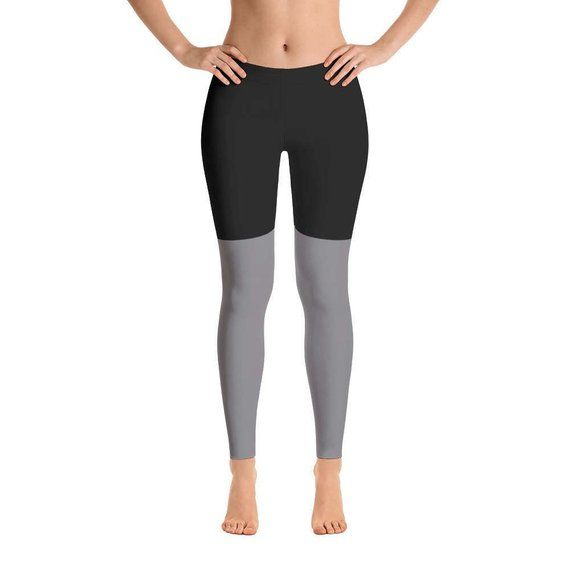 76851fdfbc68db 2 Tone Black/Gray Workout leggings for Women in 2019 | Products ...