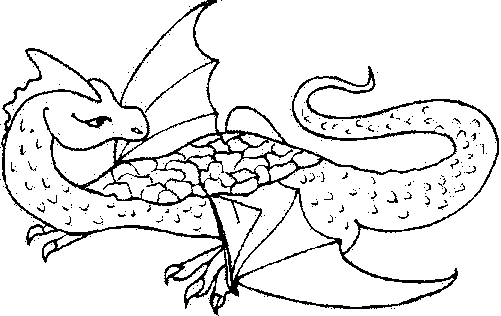 dragon coloring pages for adults - Printable Kids ...