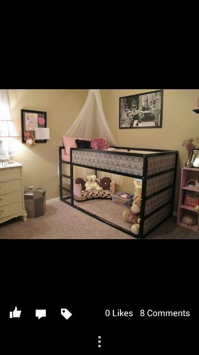 Repurpose ikea loft bed.... (With images) Kid beds