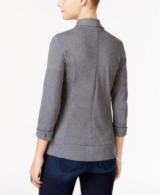 238791bb2a65b Knit Blazer, Created for Macy's   Products   Knit blazer, Blazer ...