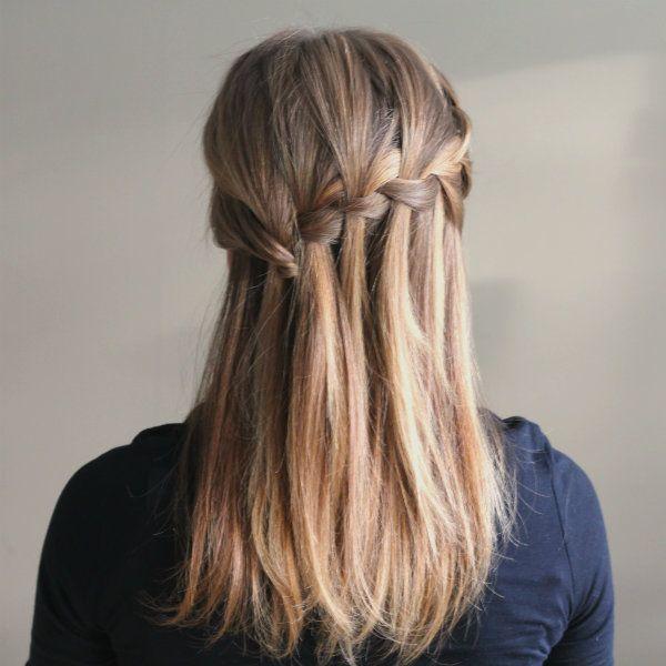 The Ultimate Waterfall Braid Hair Pinterest Braids Hair