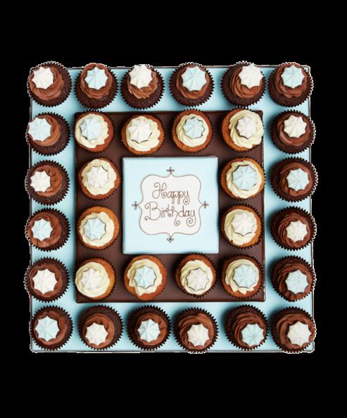Birthday Boy Cupcakes