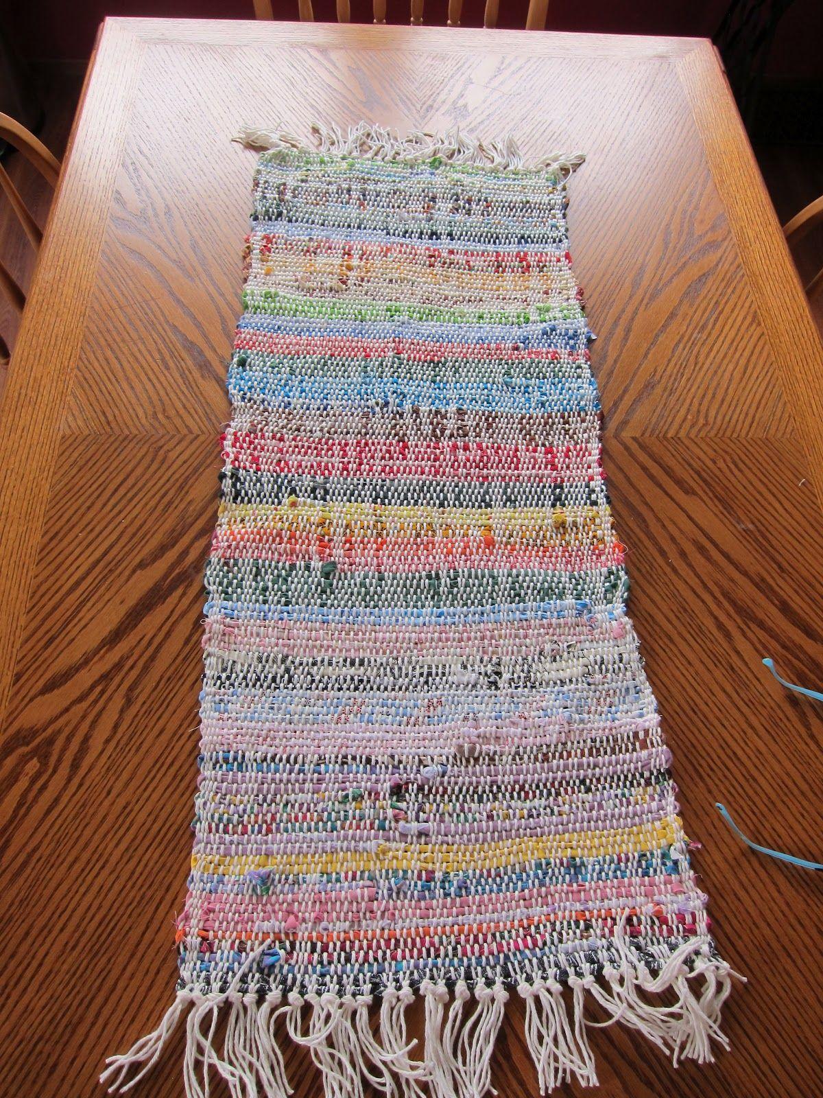 Rag Weaving With A Rigid Heddle Loom Rigid Heddle Weaving Basket Weaving Patterns Heddle Loom