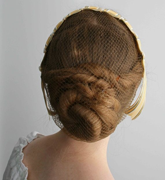 6 Different Ways To Wear A Hair Net With Style In 2020 Civil War Hairstyles Victorian Hairstyles Hair Nets