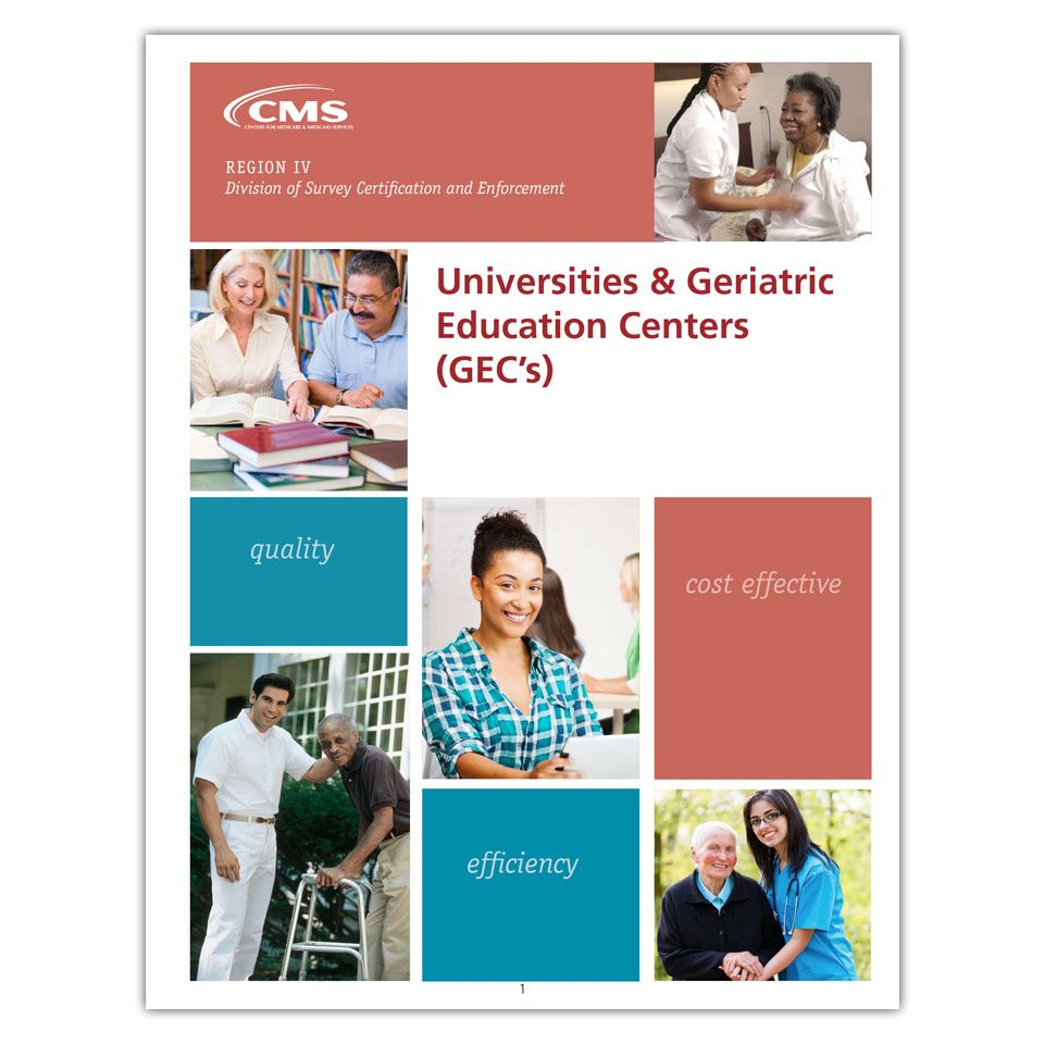 Universities & Geriatric Education Centers in the South