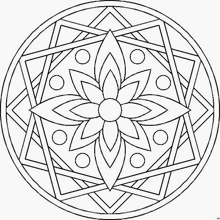 Mandalas para imprimir en A4  Mandalas para imprimir  bordados