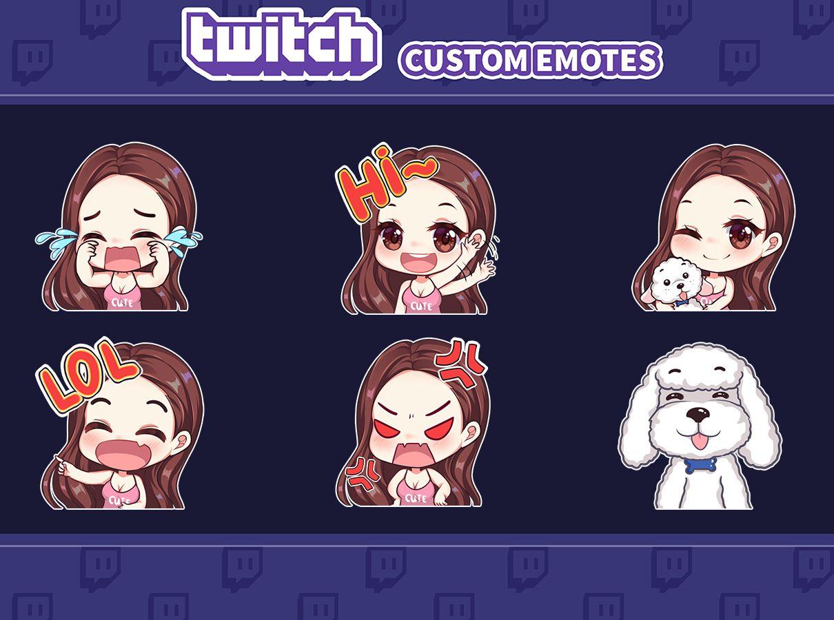 Draw Custom Emotes For Your Twitch Twitch Twitch Streaming Setup Draw
