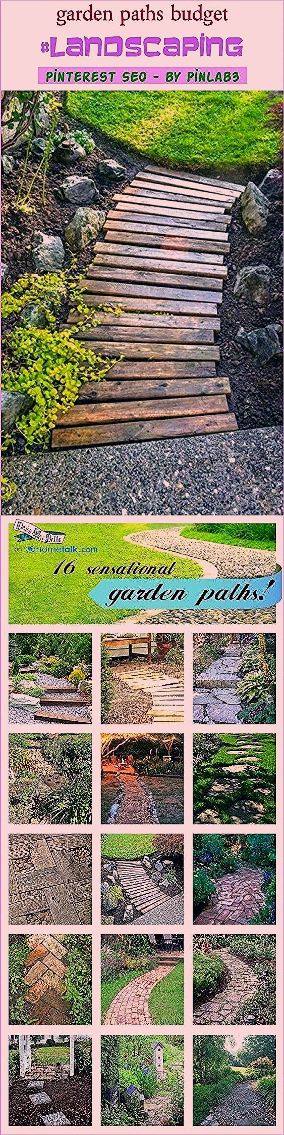 Photo of Garden paths budget #garden #paths #budget #gartenwege #budget #allé