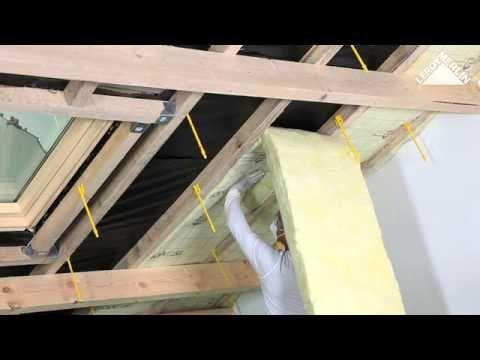 Comment Isoler Des Combles Amenageables Youtube Comble Amenageable Renovation Plafond Isolation Combles