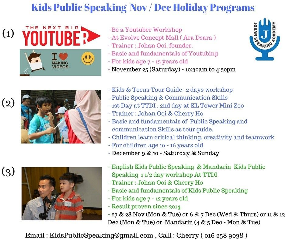 Dear Parents Looking For Great Programs For Your Child This