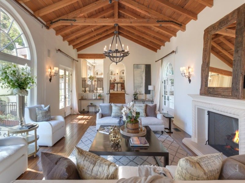 Tyra Banks Selling Romantic Spanish Colonial In Beverly Hills