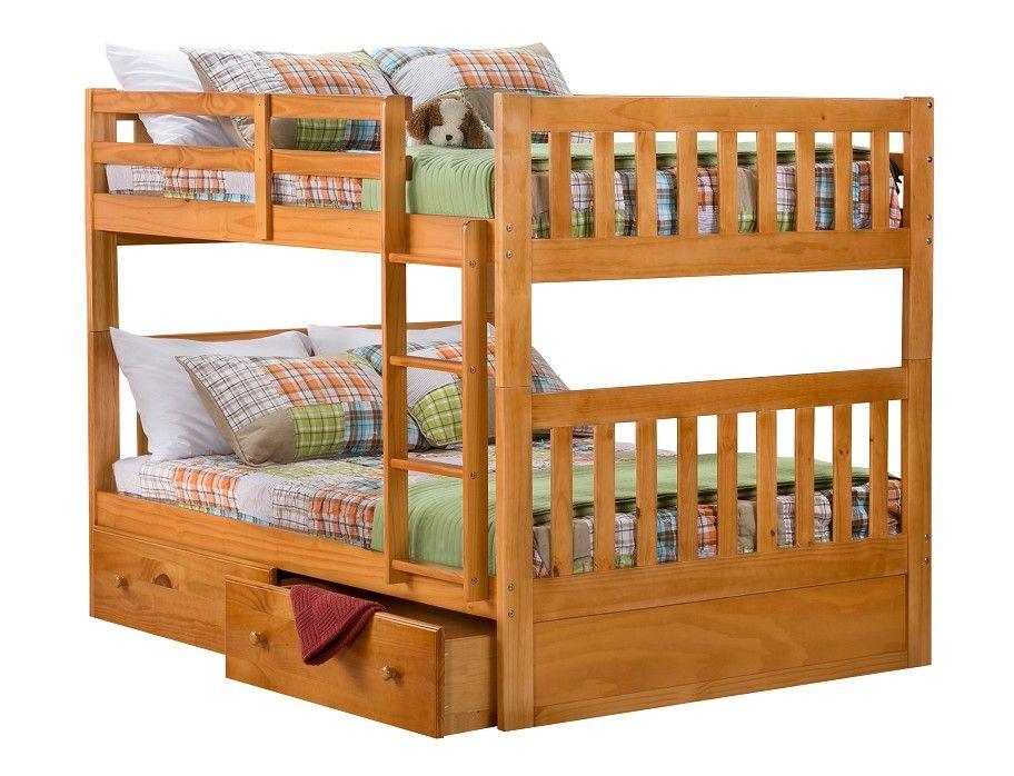 slumberland knollwood collection honey bunk on Slumberland Bunk Beds id=72484