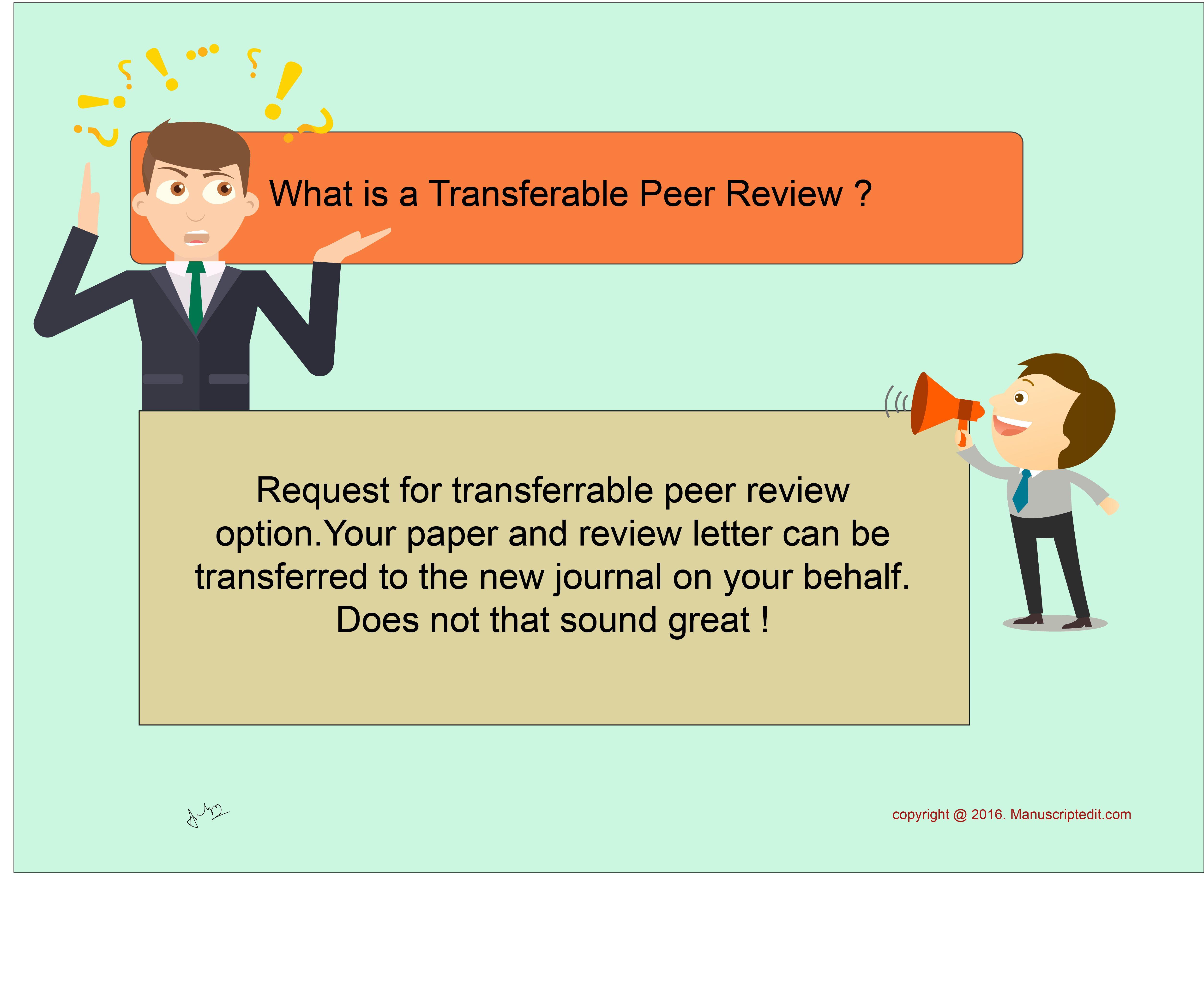 manuscriptedit what is a transferable peer review request for manuscriptedit what is a transferable peer review request for transferable peerreview