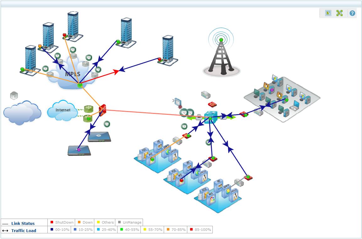 Enterprise private network mapsg 1152762 network diagram diagram publicscrutiny Images