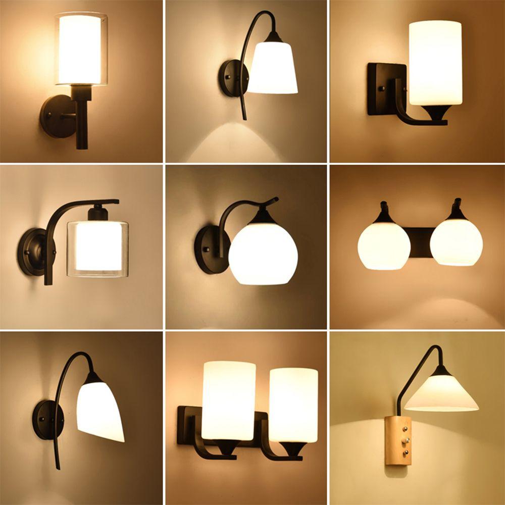 Hghomeart Wall Lamp Vintage Bedside Reading Lamp 110v 220v Led E27 Luminaria Bedroom Wall Lighting Contempor Wall Lights Wall Lights Bedroom Wall Lamps Bedroom