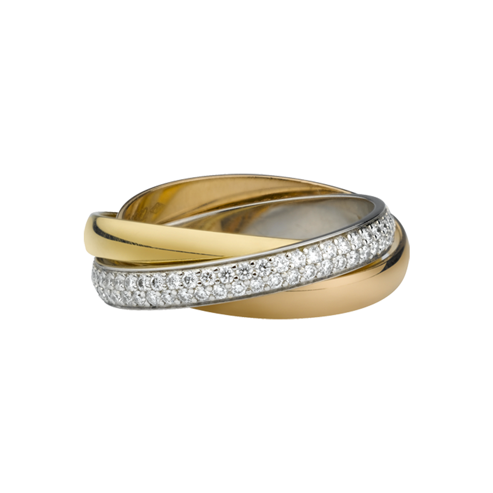 Cartier Trinity Wedding Ring: Trinity De Cartier Wedding Ring