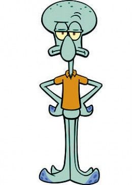 Squidward Tentacles--squidward Toys and Merchandise