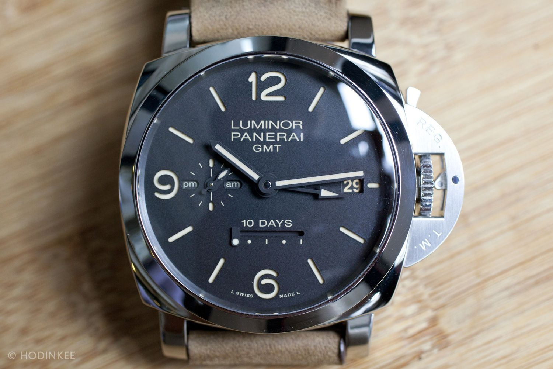 Introducing The Panerai Luminor 1950 10 Days GMT Automatic Acciaio (Live Pics & Pricing) — HODINKEE - Wristwatch News, Reviews, & Original Stories