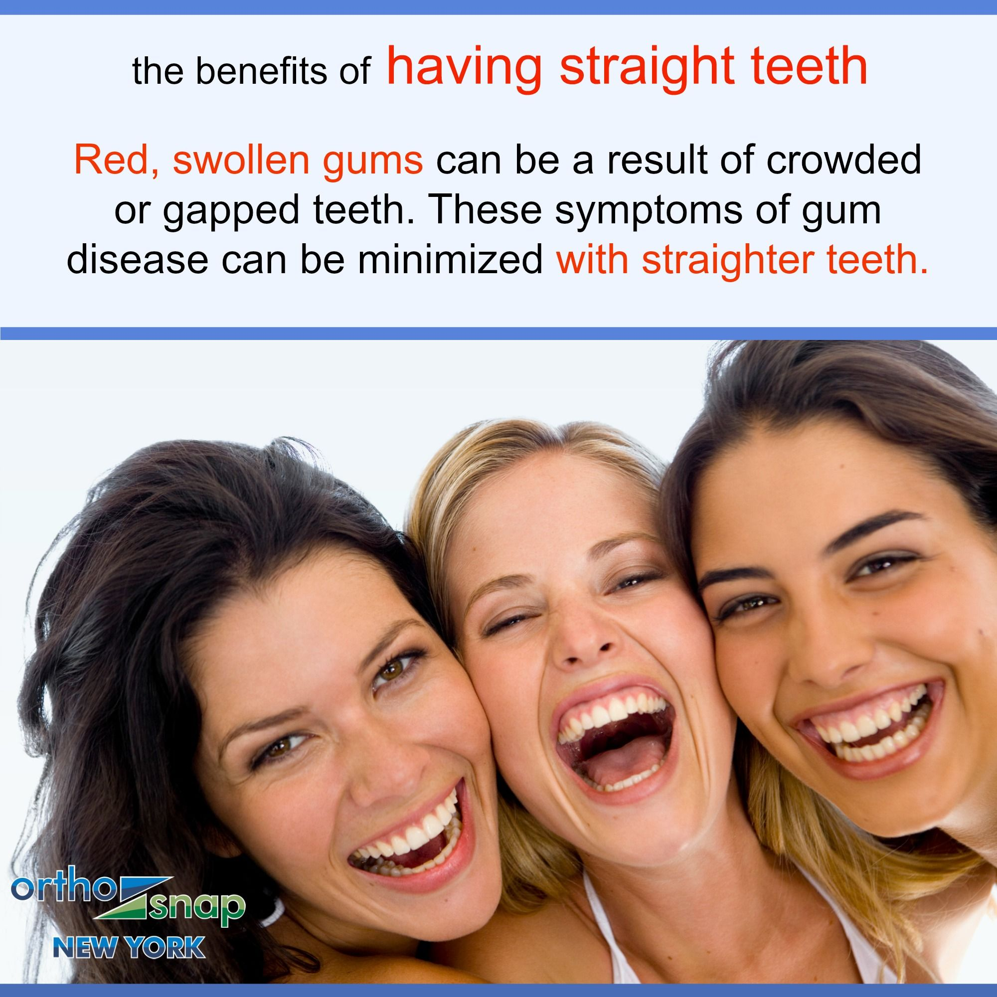 Get Straight Teeth Without Braces OrthoSnapNewYork