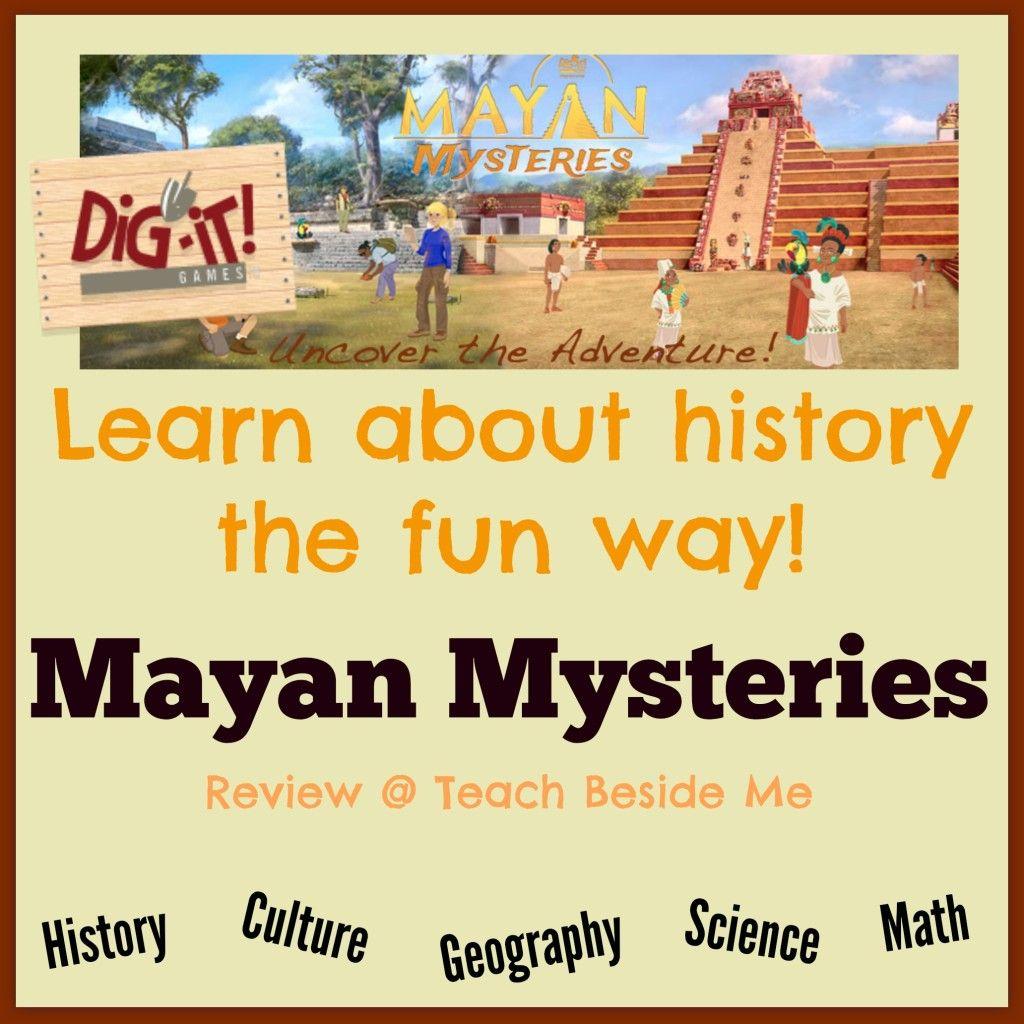 Mayan Mysteries educational online game or app