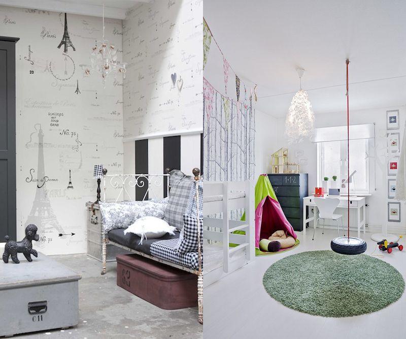 Habitaciones infantiles blancas rec maras infantiles - Habitaciones infantiles blancas ...