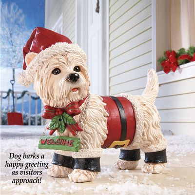 Motion Sensor Pet Christmas Yard Decoration Christmas Pinterest