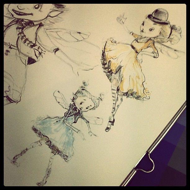 Steampunk Fairy Sneak Peek!   Flickr - Photo Sharing!