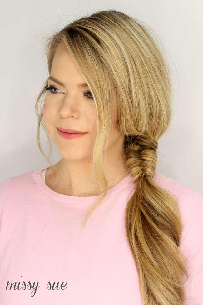 hair style with bow infinity wrapped side braid hair style hair makeup and 5278