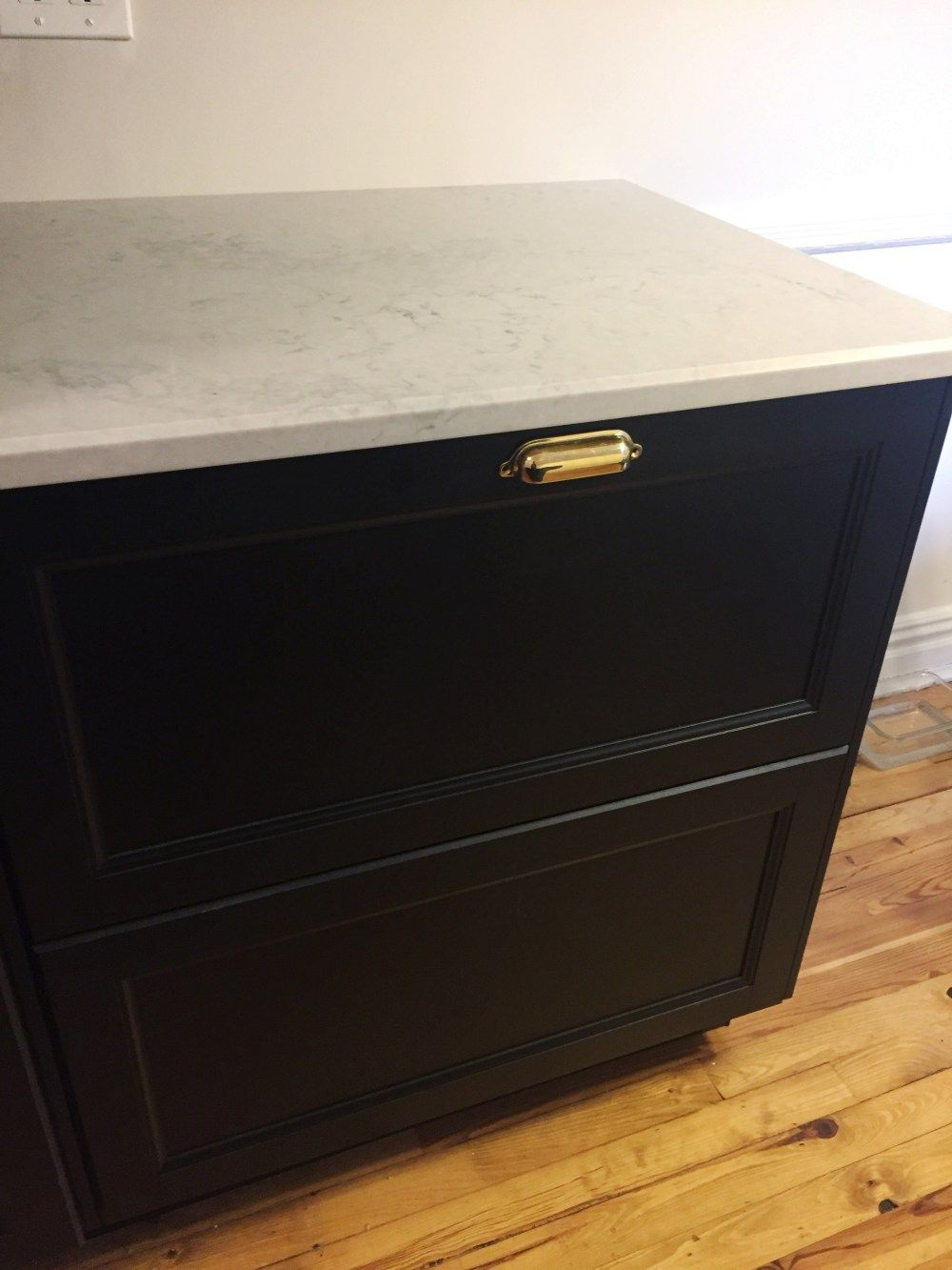 Best Ikea Laxarby Cabinets Nobel Grey Caesarstone Counters 400 x 300