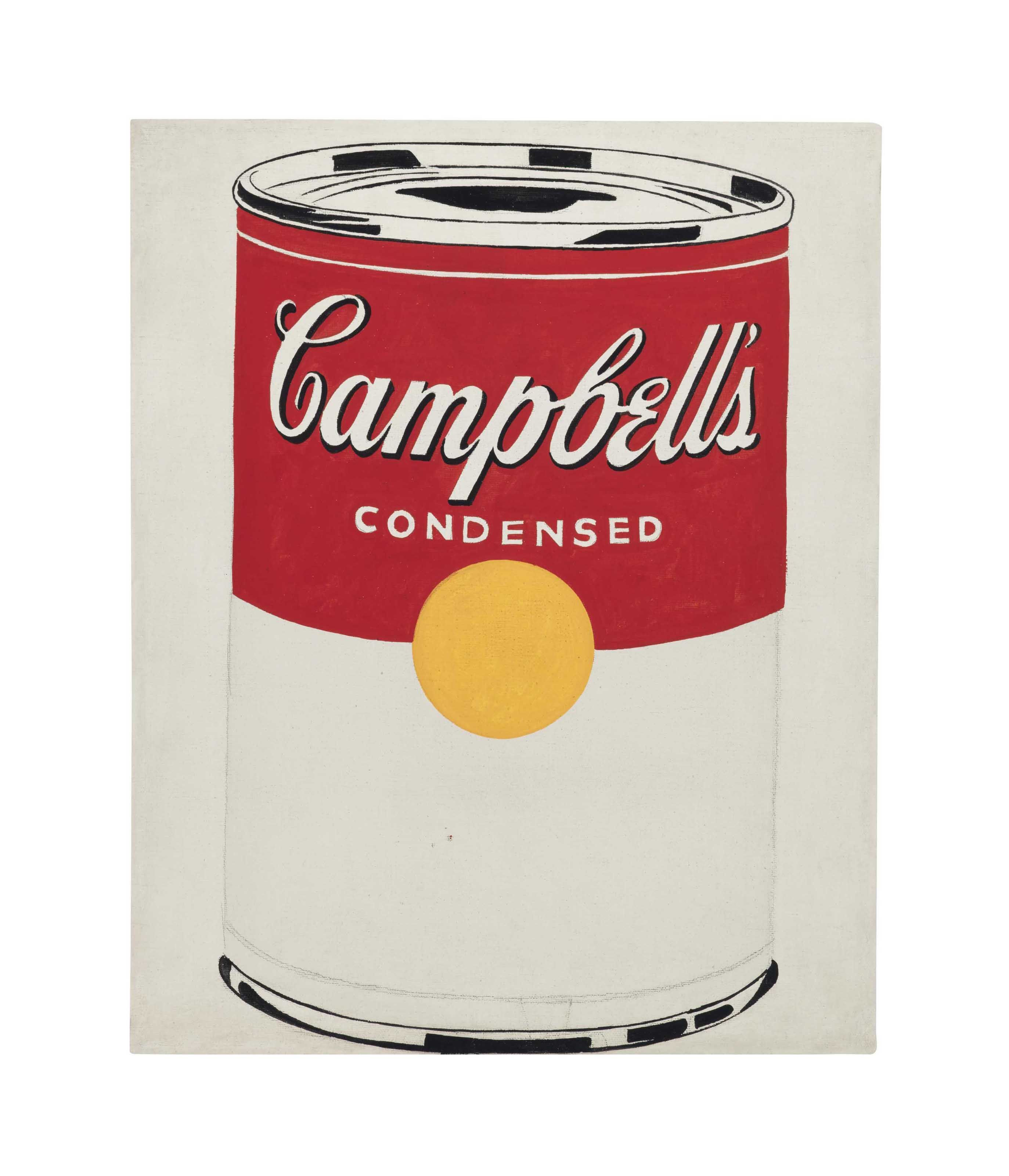 Andy Warhol 1928 1987 Campbell S Soup Can 1960s Paintings Christie S Andy Warhol Campbell S Soup Cans Warhol