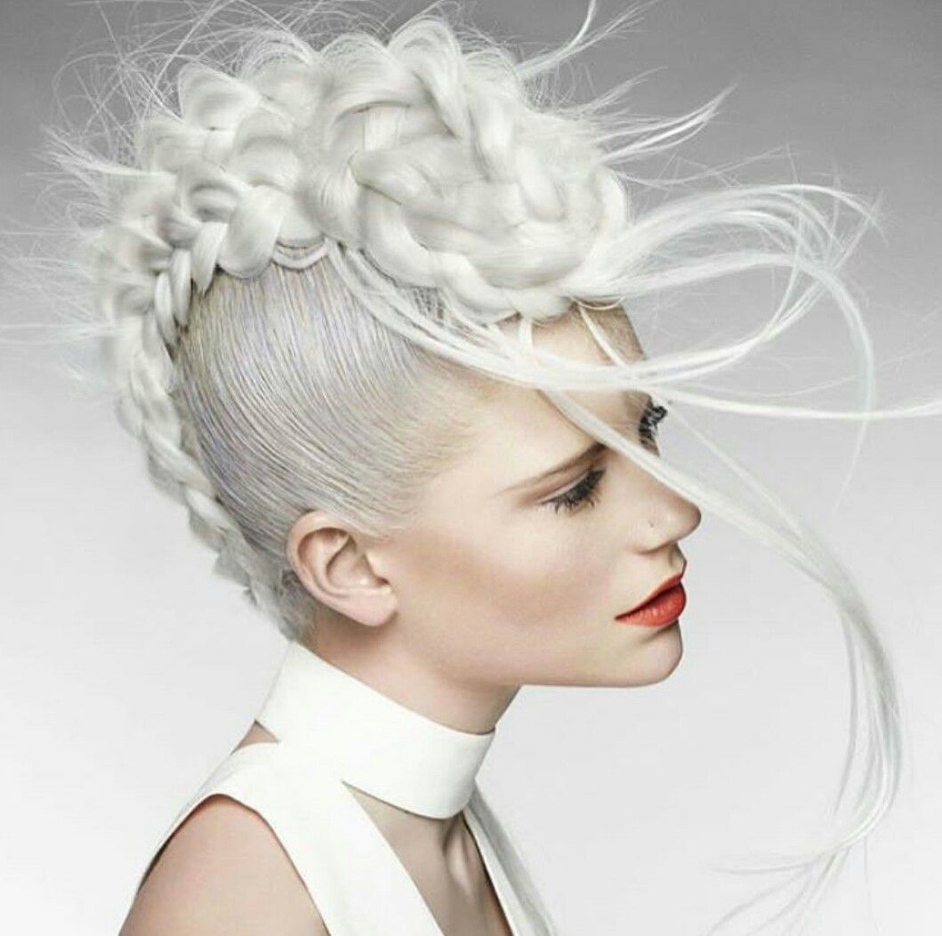 Pin by asuka on reference pinterest flow hair style and avant garde