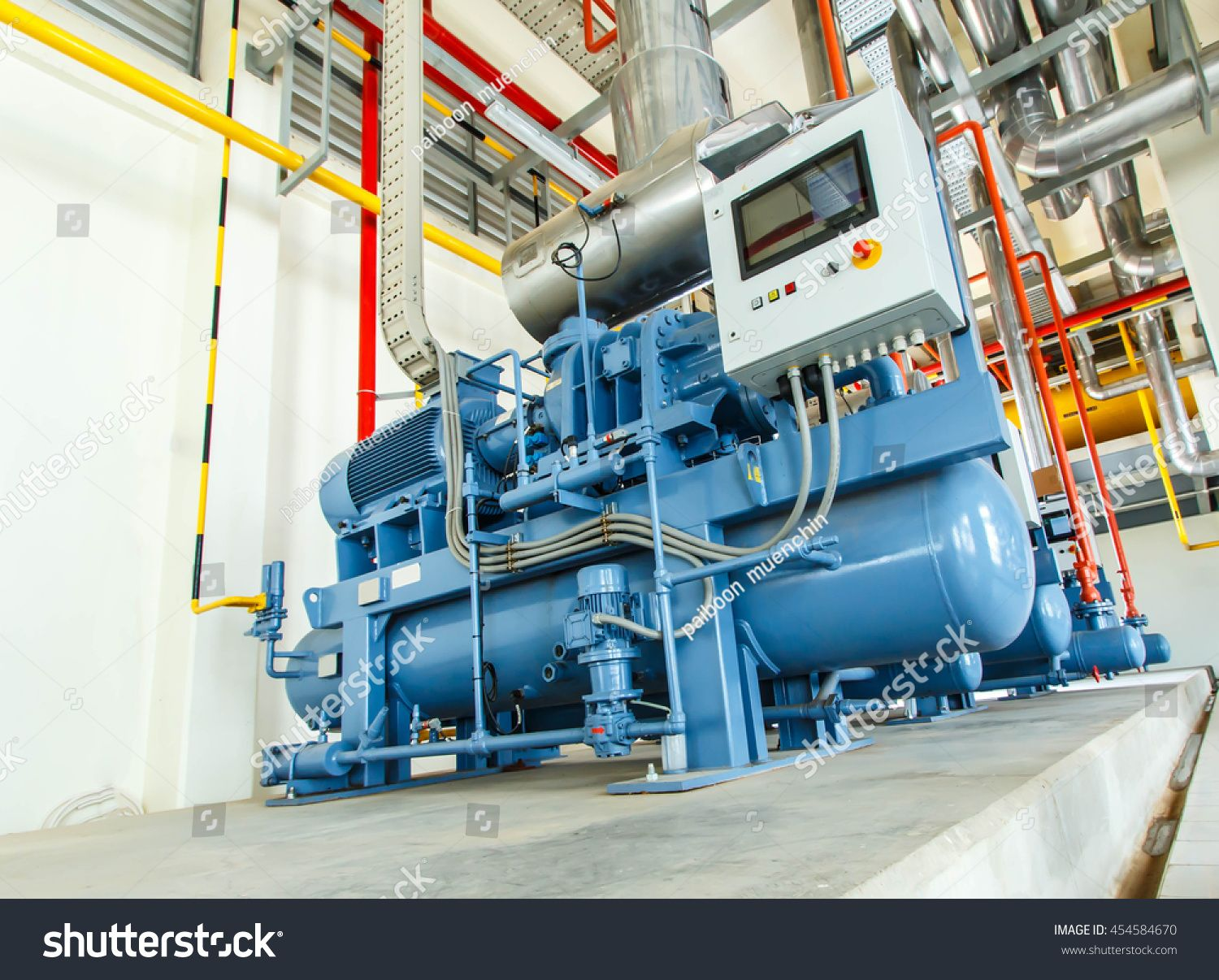 Industrial Air Compressor Machine,Piston Type And New