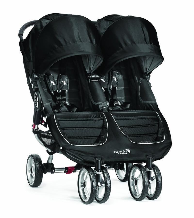 Baby Jogger City Mini Double Stroller Black City mini
