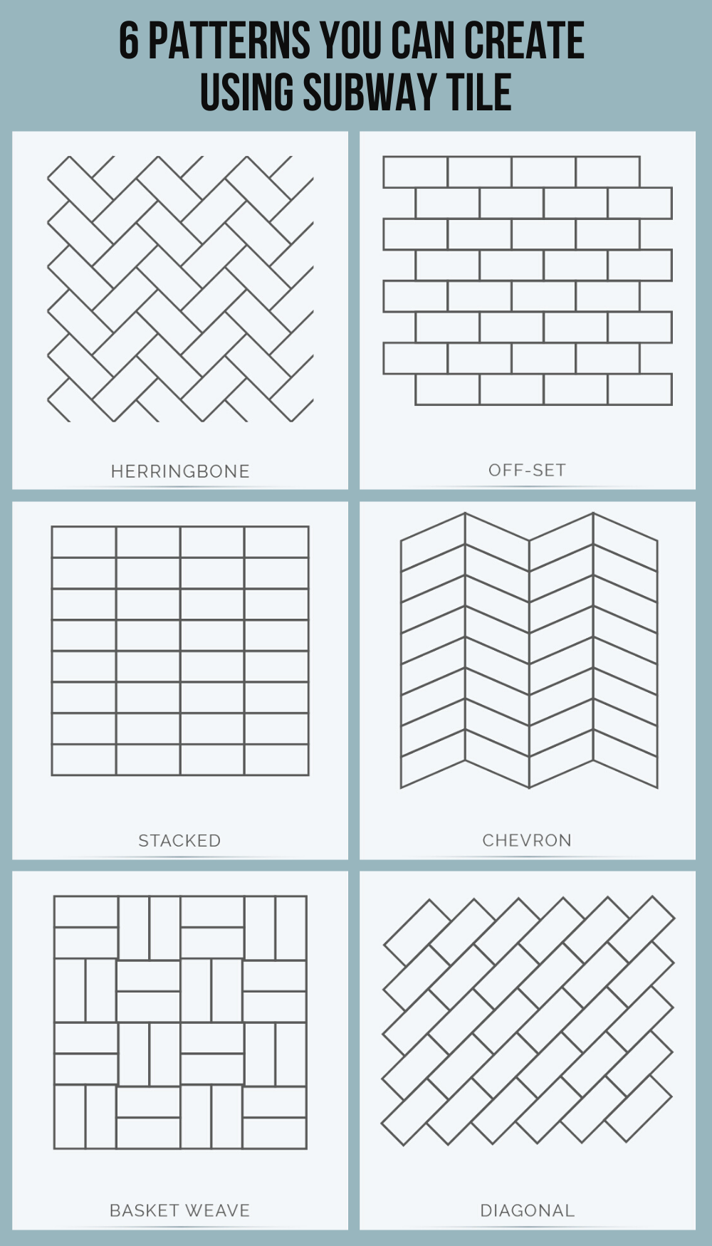 subway tile design