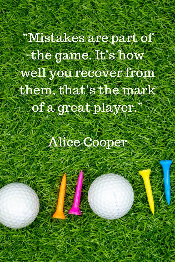 Golf Quotes - Thaninee Media #golfhumor