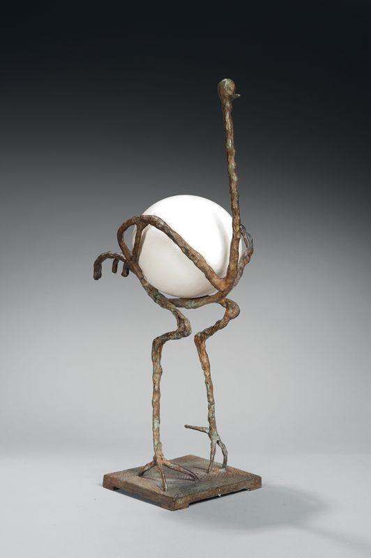 Diego Giacometti(1902-1985),L'Autruche, 1977. Photo courtesy Artcurial