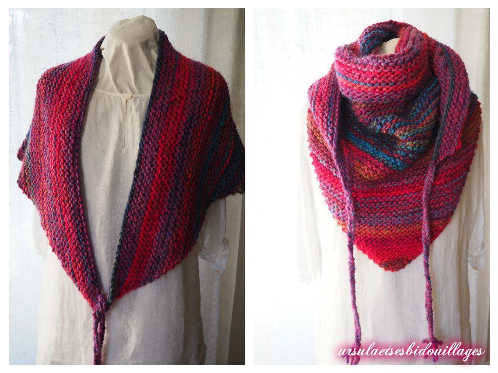 epingle sur tricot et crochet