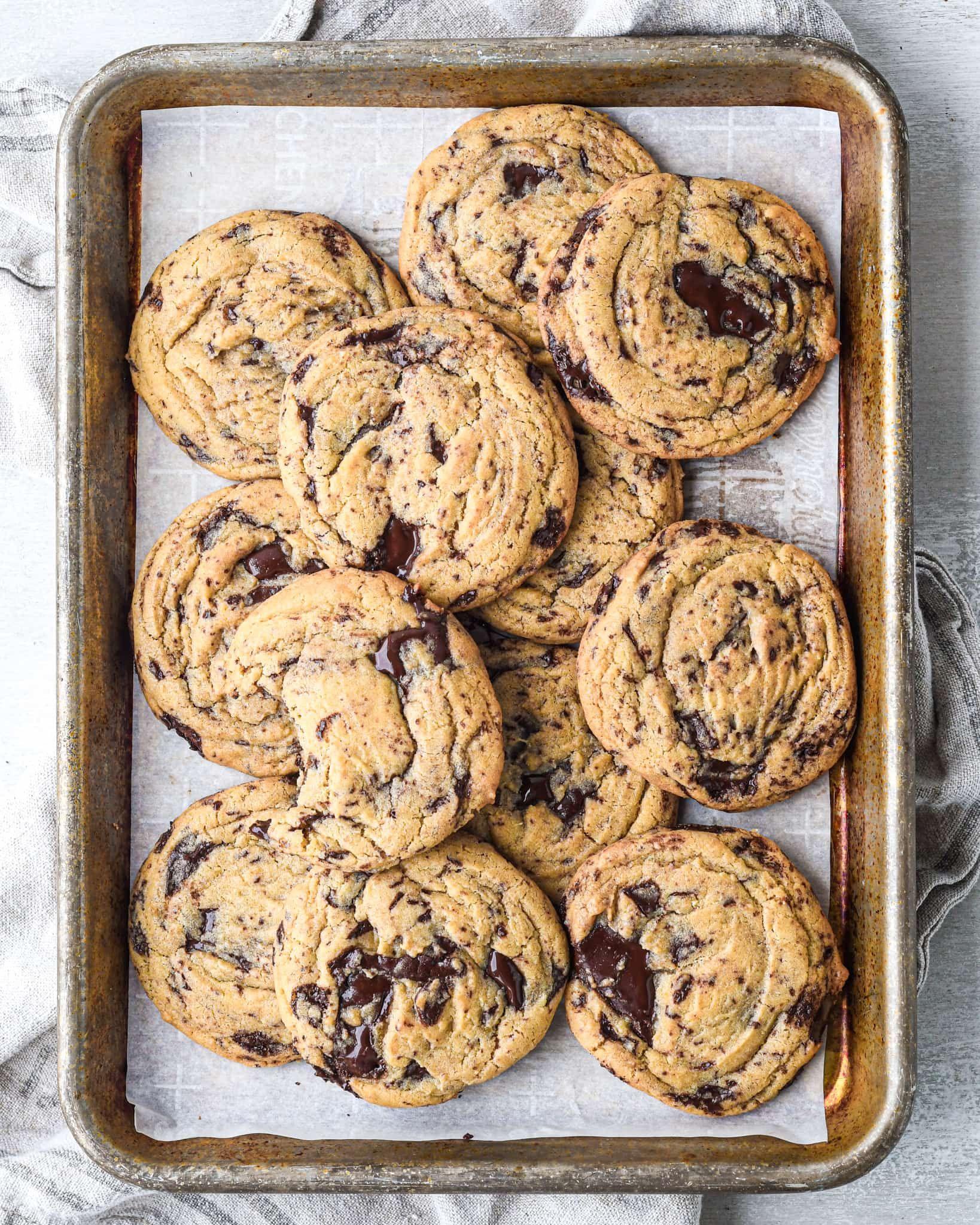 Egg Yolk Chocolate Chunk Cookies Buttermilk By Sam Recipe In 2020 Chocolate Chunk Cookies Chewy Cookie Cookies