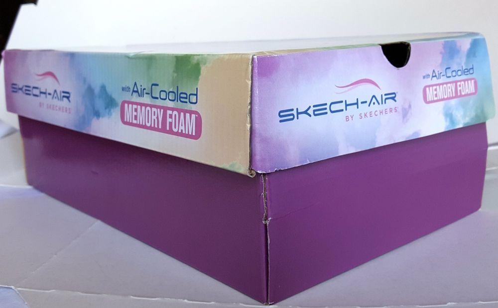 846d31521e1c2 Skechers SKECH AIR Replacement Storage Shoe Box EMPTY BOX 12 x 7.5 x 4.5  Clouds  Skechers  AthleticComfortShoeBox