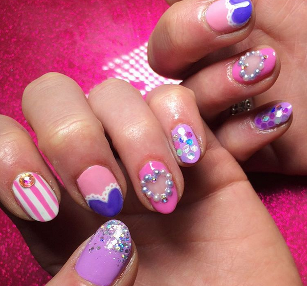 15 Cute Nail Art Designs You Will Fall In Love With Pinterest