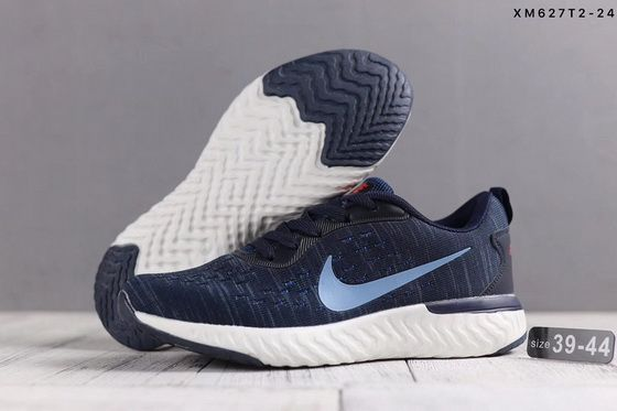 the latest 609b6 efc7d Nike Epic React Flyknit Blue White Spring Summer 2018 Popular Shoe
