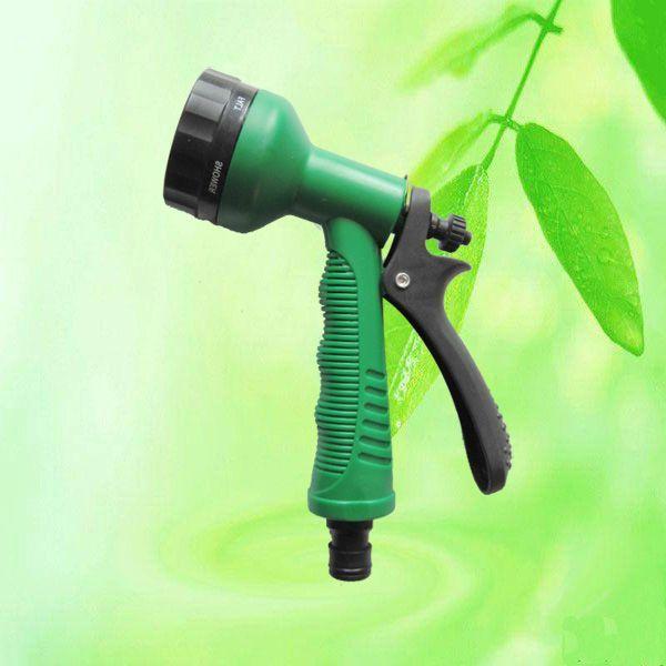 Adjustable Patterns Water Hose Spray Gun HT1302 7 Spraying Patterns ...